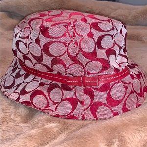 Red Coach Bucket Hat